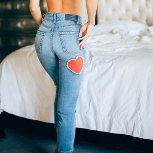 Revice Mon Amour Cropped Jeans